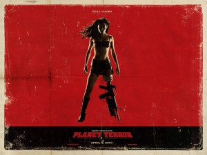 Planet Terror Rose McGowan Sexy Zombie Wallpaper