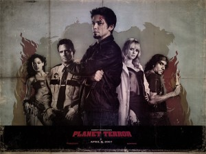 Planet Terror Wray zombie wallpaper