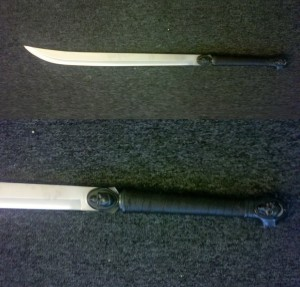 sword machete for zombie killing weapons