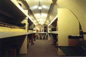 long term bomb shelter for zombie apocalypse