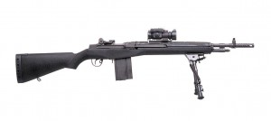 Springfield M1A Rifle Zombie Killing Weapon