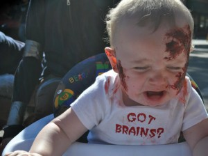 zombie baby got brains