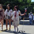 zombie hospital patients at zombie walk