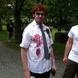 shaun of the dead zombie at zombie walk