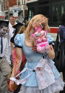 hot sexy cute alice in wonderland zombie