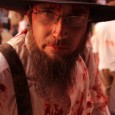 amish zombie at zombie walk