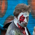 decayed zombie at zombie walk