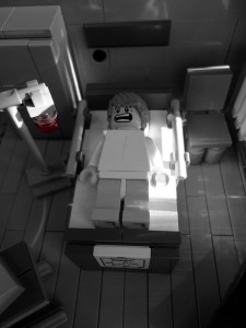 The Walking Dead Legos - Hospital 1