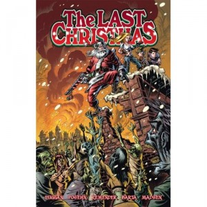 the last Christmas zombie art | comic book art