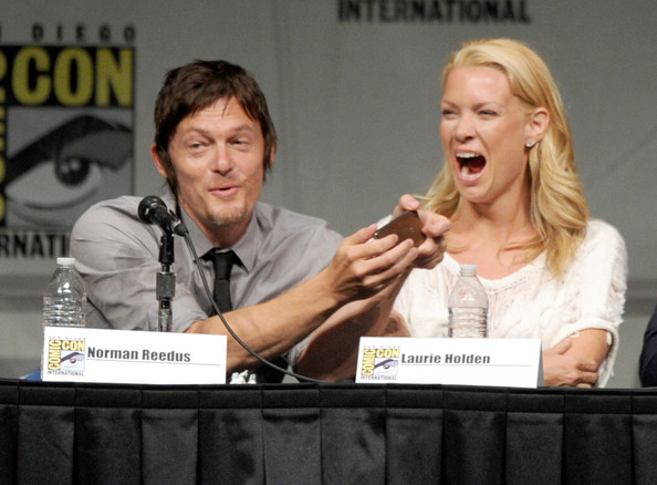 Comic Con 2012 The Walking Dead Cast Panel - Daryl and Lauren